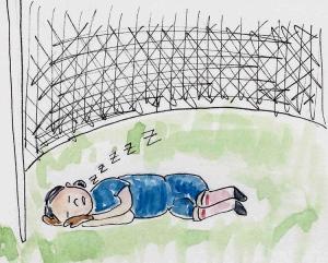 soccer-sleeping
